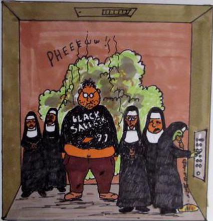 Fat Man and Nuns